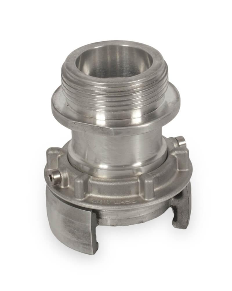 [:no]Nor lås 3- utvendige gjenger. Aluminium. [:]