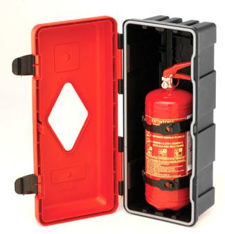 [:no]Glassfiberskap for 2 kg brannslokker[:]