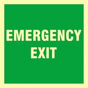 [:no]Emergency EXIT 15x15[:]