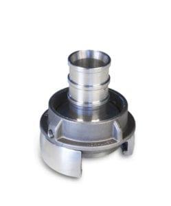 [:no]Nor lås 2- slangehals. Aluminium[:]
